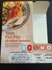 Piri Piri chicken breasts - Product