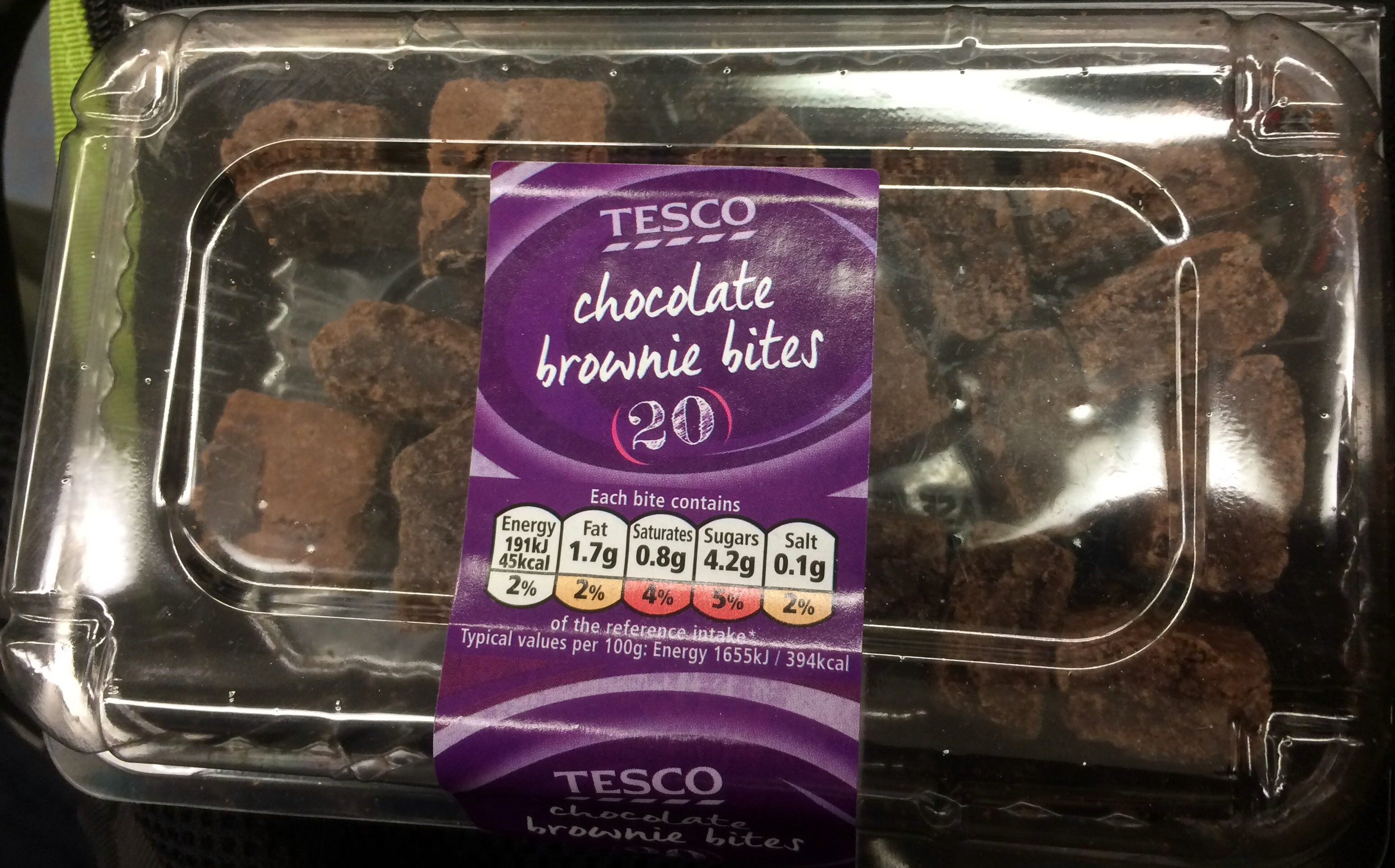 Chocolate Cake Recipe Uk Tesco: Chocolate Brownie Bites