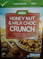 ASDA Honey nut & milk choc crunch - Product