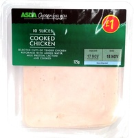 10 slices Cooked chicken - Product