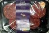 4 venison burgers - Product