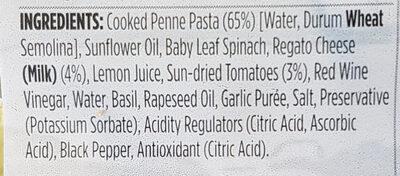 Pesto and Sun-dried Tomato Pasta Salad - Ingredients