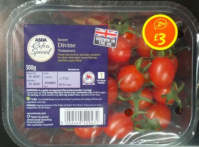 Sweet divine tomatoes - Produit