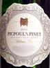 Picpoul de Pinet 2013 - Product