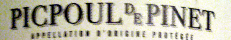 Picpoul de Pinet 2013 - Ingredients - en