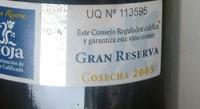 Espartero Rioja - Product