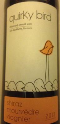 Quirky Bird shiraz mourvèdre viogner - Product - en