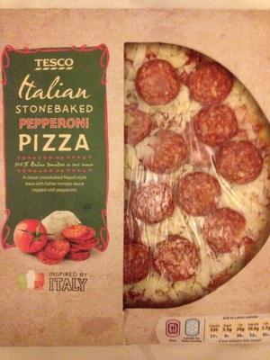 Italian stonebacked pepperoni pizza - Product