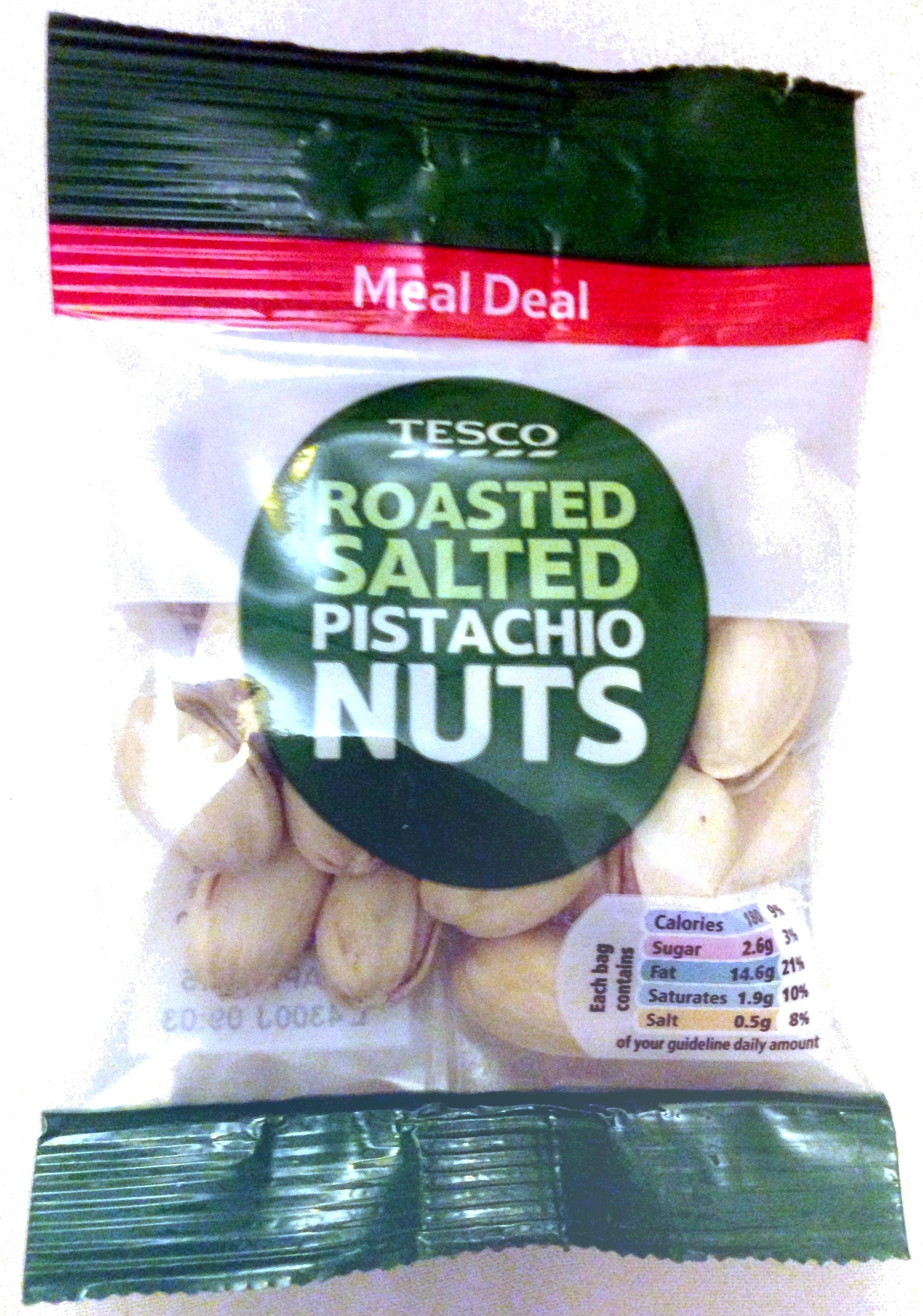 roasted salted pistachio nuts - Produit - en
