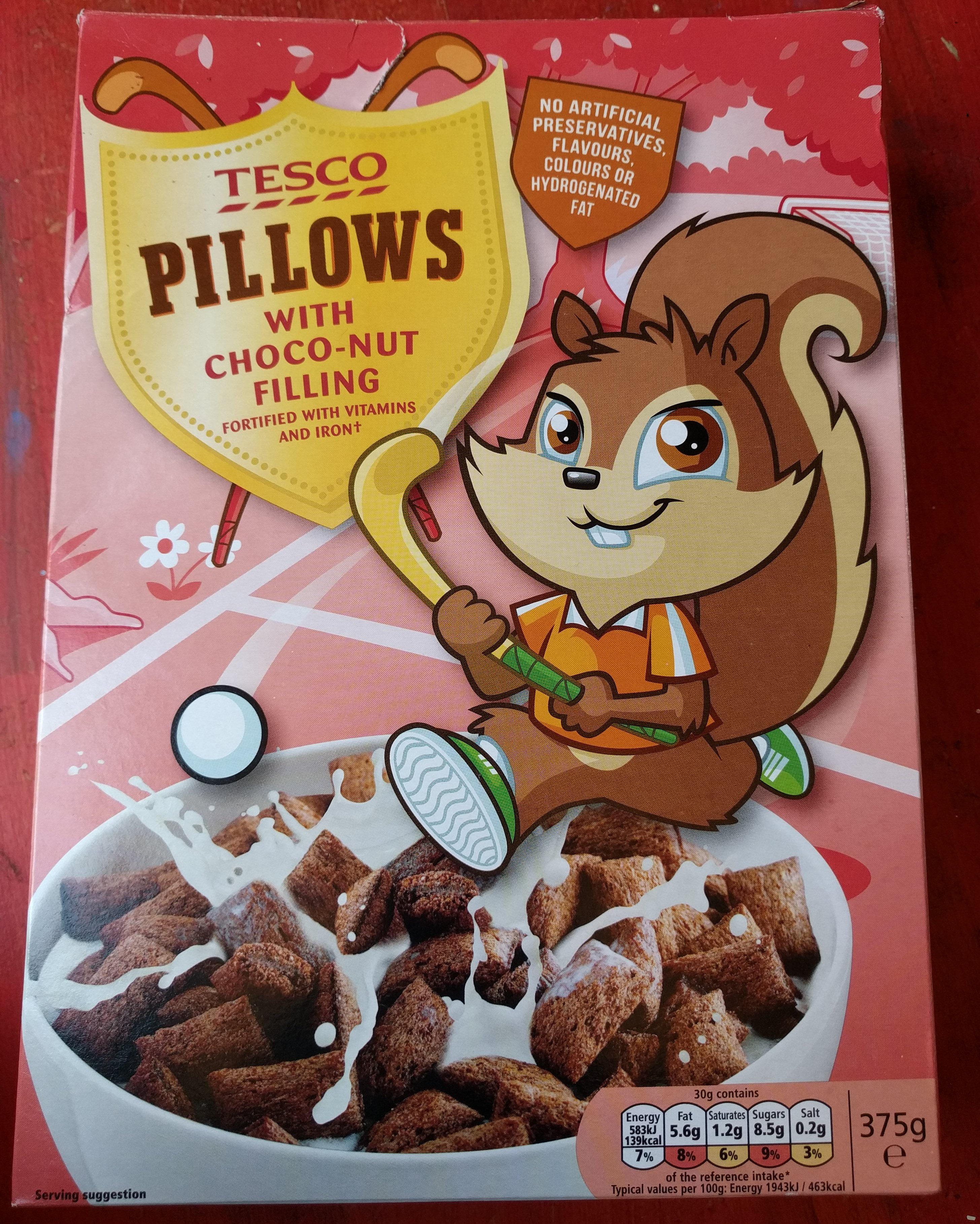 Choco Nut Pillows - Product - en