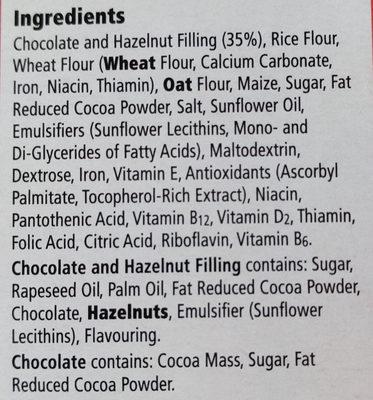 Choco Nut Pillows - Ingredients
