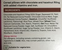 Choco Nut Pillows - Ingrédients - fr