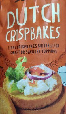 Tesco Dutch Crisp Bakes 125G - Produit