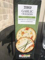 Tesco Garlic Cracker 200G - Producte - es