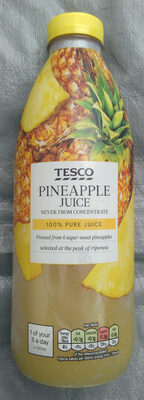 Pineapple Juice Not From Concentrate - Produit