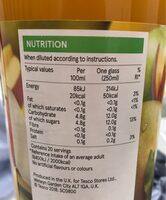 High juice apple mango - Informations nutritionnelles - en