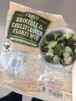 Tesco Broccoli Cauliflower Floret Mix - Produit - en