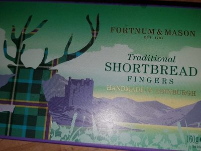 Traditionnal Shortbread Fingers - Product