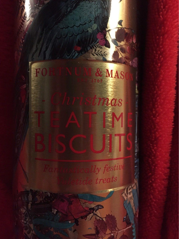 Christmas Teatime Biscuits Fortnum Mason
