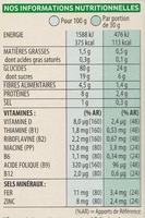 Special K Pêche Abricot - Informations nutritionnelles - fr
