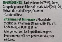 Miel Pops - Ingredients - fr