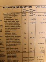 Miel Pops - Nutrition facts - fr