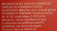 Smacks - Ingredientes - fr