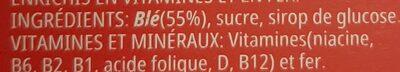 Céréales Smacks - Ingrédients - fr