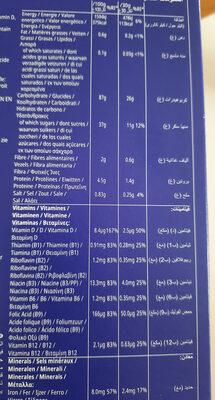 FROSTIES - Valori nutrizionali - fr