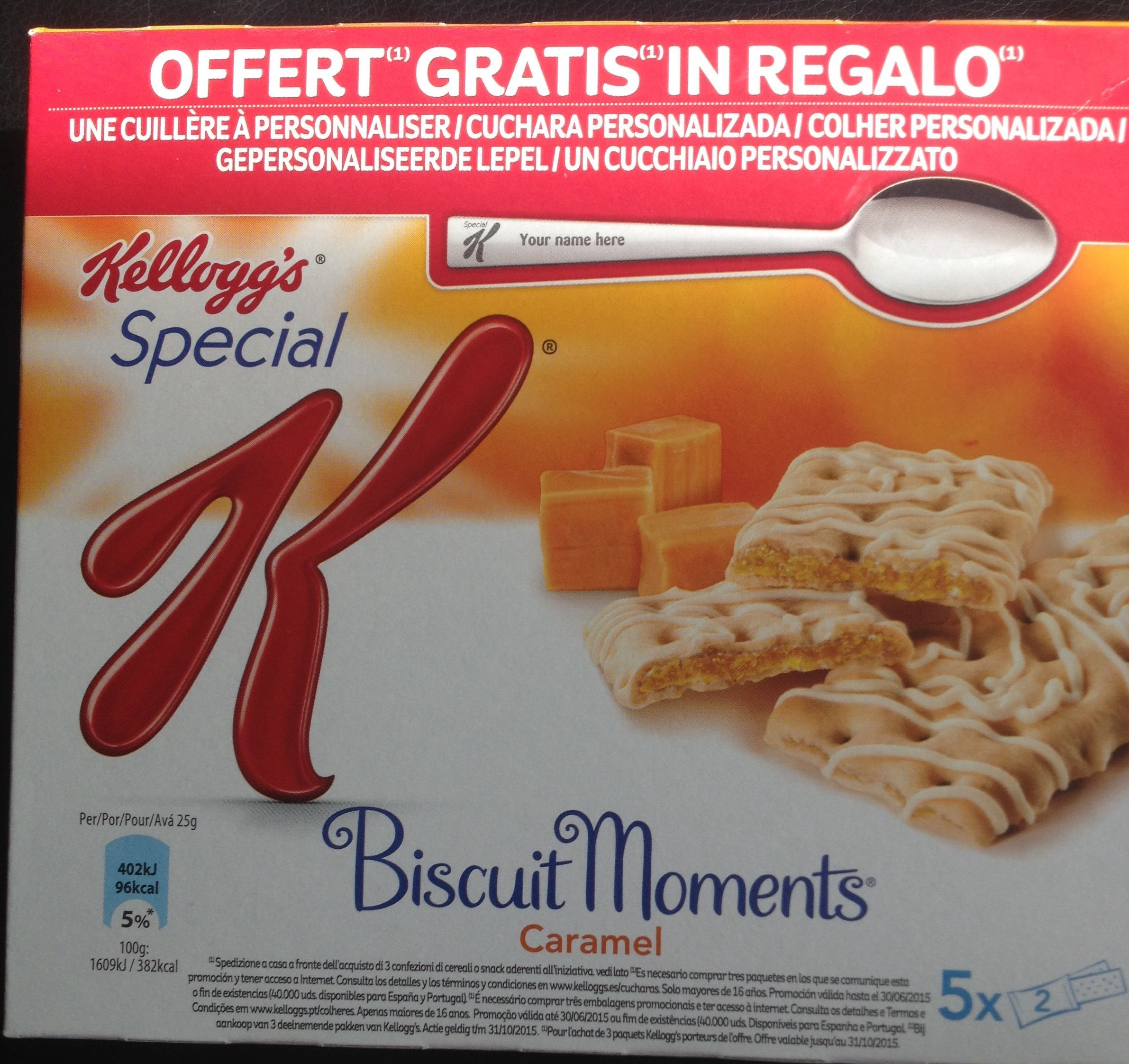 Biscuit moments Caramel - Product