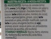 Krave White Choco 375 gr - Ingredientes - fr