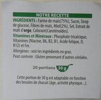 Miel pops - Ingredientes