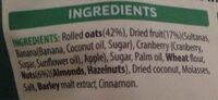 Crinchy Nut - Ingredients - fr