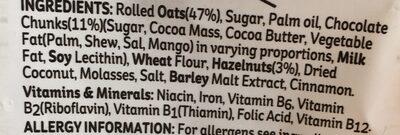 Kelloggs Crunchy Nut Oat Granola Fruit & Nut 380G - Ingredients
