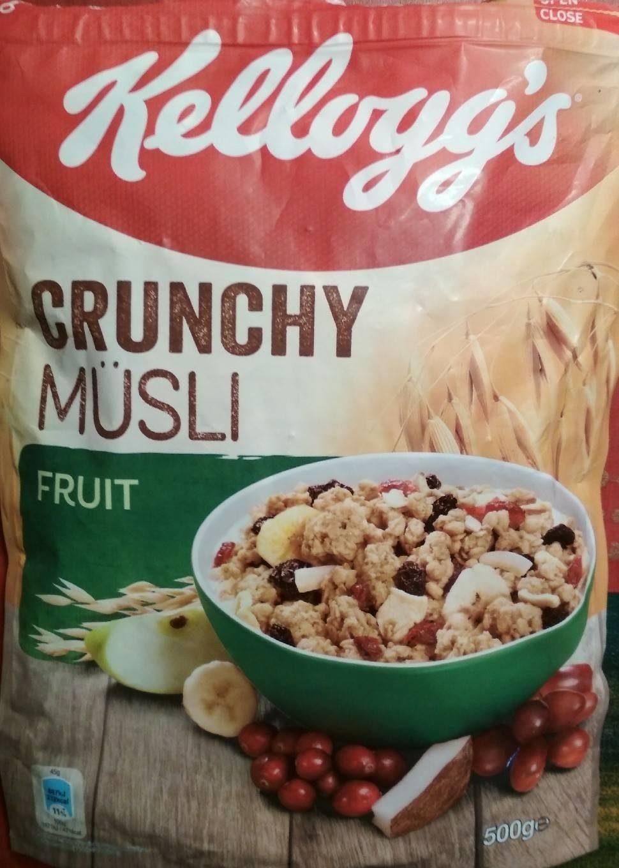 Crunchy Müsli : Fruit - Prodotto - fr