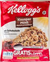 Knusper Müsli mit Schokolade und Haselnüssen - Produkt