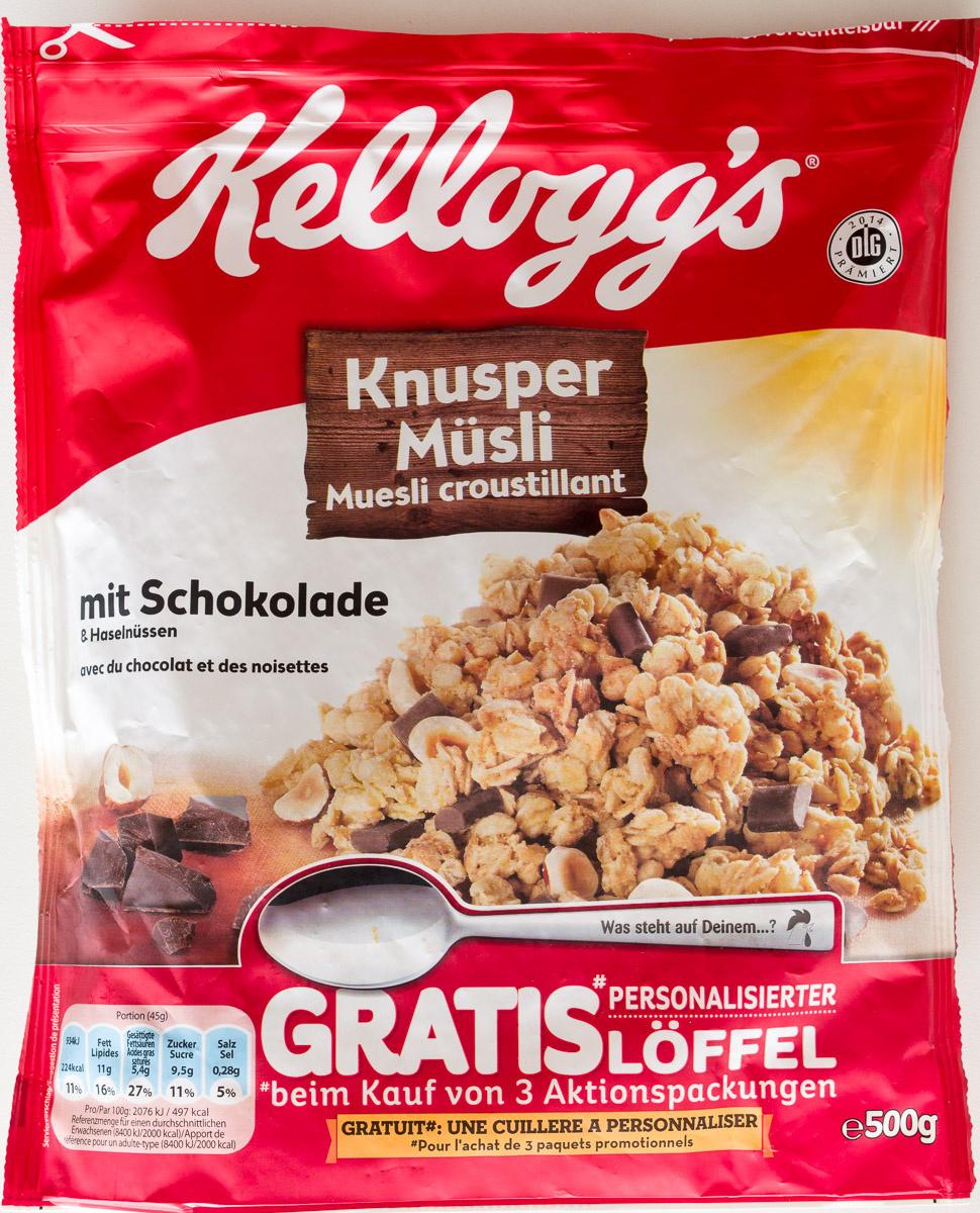 Knusper Müsli mit Schokolade und Haselnüssen - Product