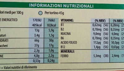 Breakfast Bakes Chocolate - Informations nutritionnelles - fr