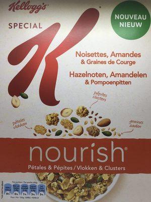 Spécial K Nourish Noisettes, Amandes & Graines de Courge - Product - fr