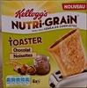 Nutri-grain à toaster Chocolat-Noisette - Product