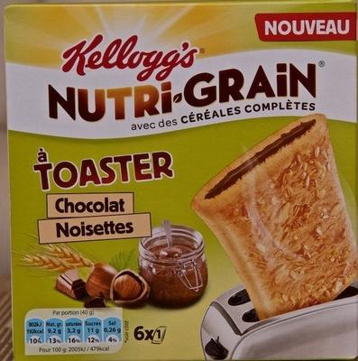 Nutri-grain à toaster Chocolat-Noisette - Product - fr