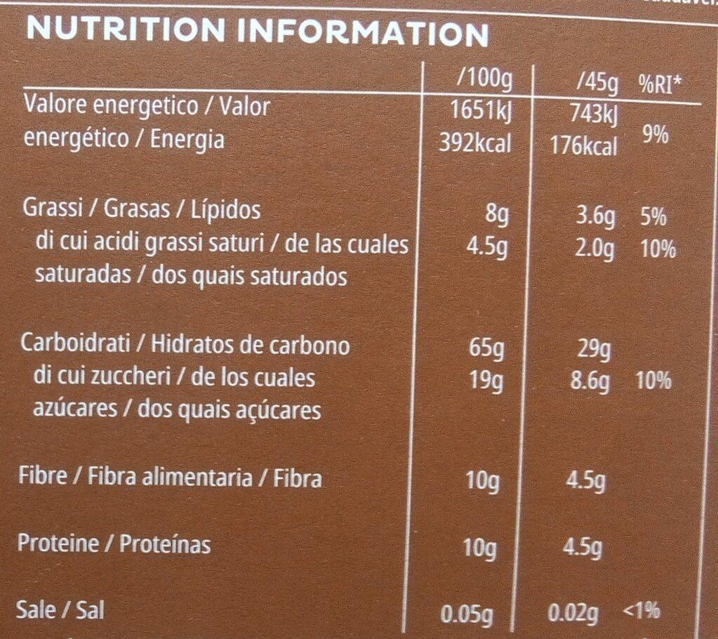 All-Bran Choco - Cereales con chocolate - Información nutricional - es