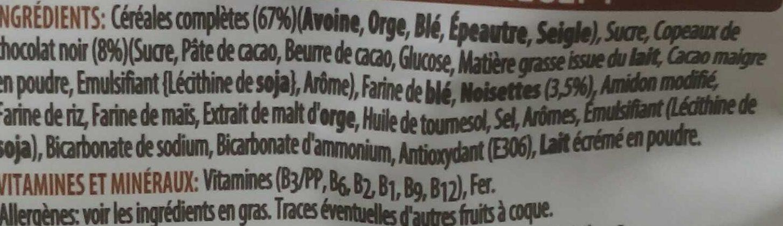 Crunchy Muesli - Ingredienti - fr