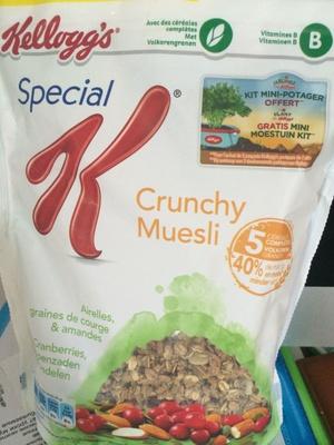Special K Crunchy Muesli - Produit - fr