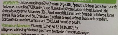 Special K Crunchy Muesli - Ingrédients - fr