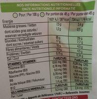 Special K Crunchy Muesli - Informations nutritionnelles - fr
