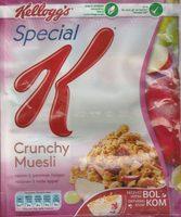 Crunchy Muesli raisins & pommes rouges - Product - fr