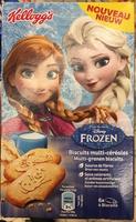 Disney Frozen - Biscuits multi-céréales - Product - fr