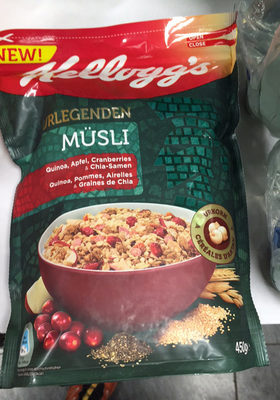 Urlegenden Müsli quinoa - Product
