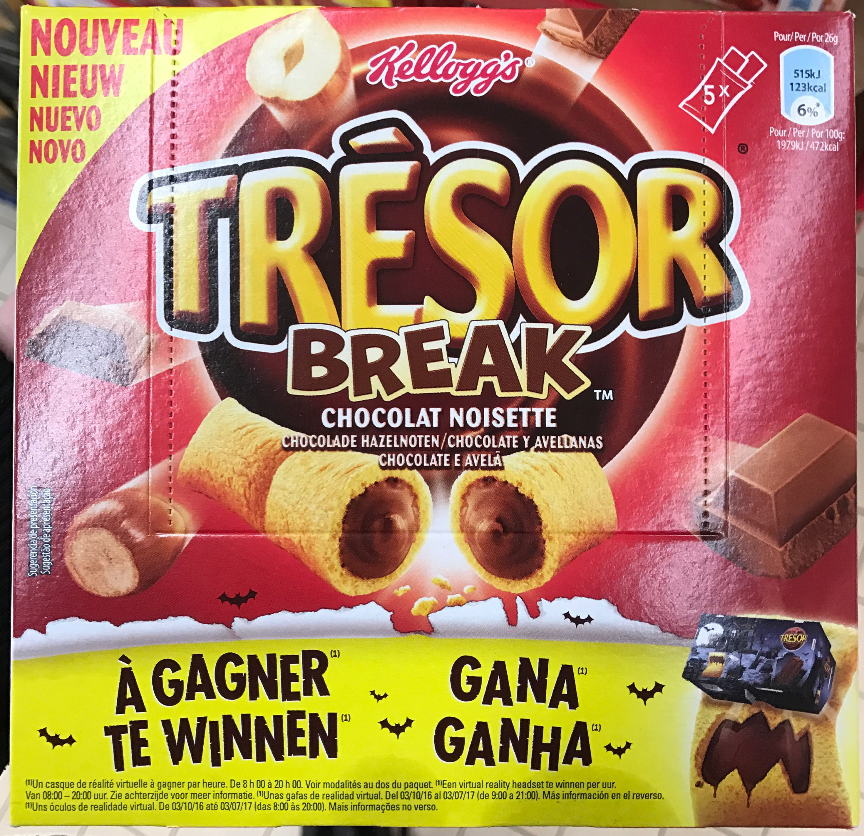 Trésor break Chocolat Noisette - Product - fr